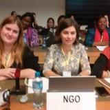 As delegadas da PpDM à 62ª Sessão CEDAW