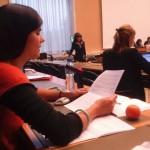 Sara do Vale, da Associação para os Direitos das Mulheres na Gravidez e no Parto, delegada da PpDM à 62ª Sessão CEDAW