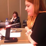 Nora Kiss da REDE Portuguesa de Jovens para a Igualdade para a Oportunidades entre Mulheres e Homens, delegada da  PpDM à 62ª Sessão CEDAW