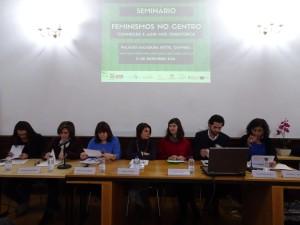 Mesa Redonda – O projeto Feminismos no Centro e a sua relação com a territorialização das políticas para a igualdade na região Centro