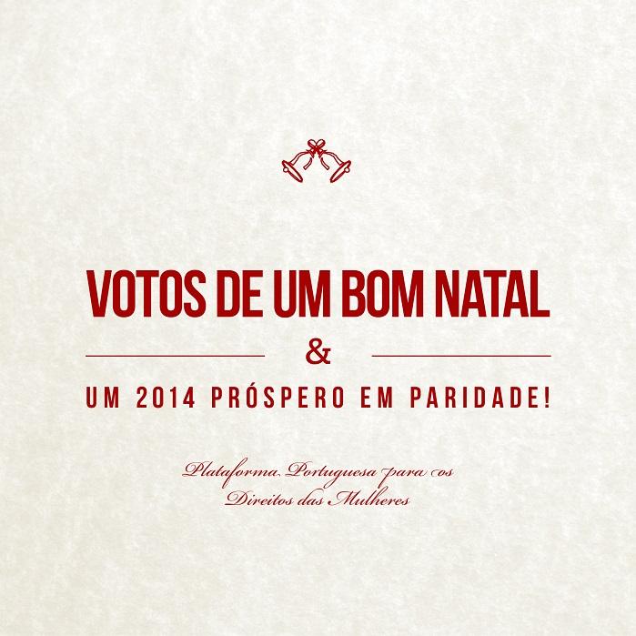 postal de boas festas 2013