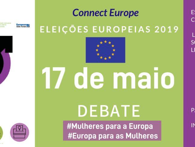 Debate: Eleições Europeias e Direitos das Mulheres
