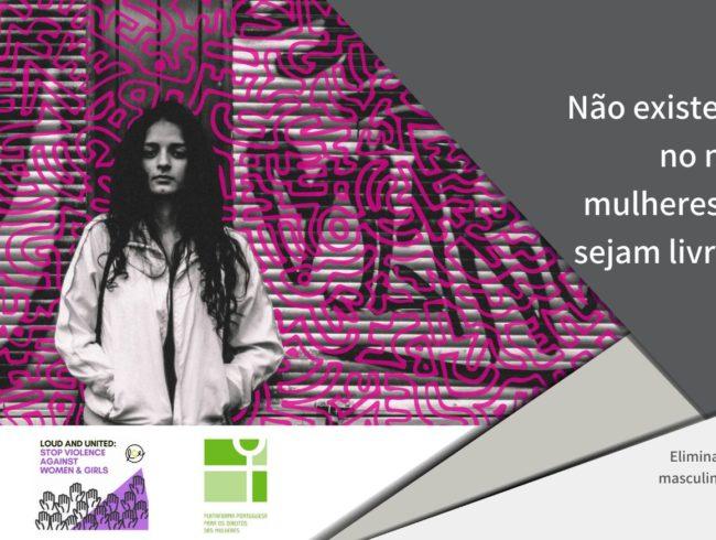 16 dias de ativismo: fim à violência masculina contra as mulheres e raparigas