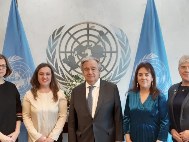 CSW64: Declaração política e participação da delegação da PpDM na ONU