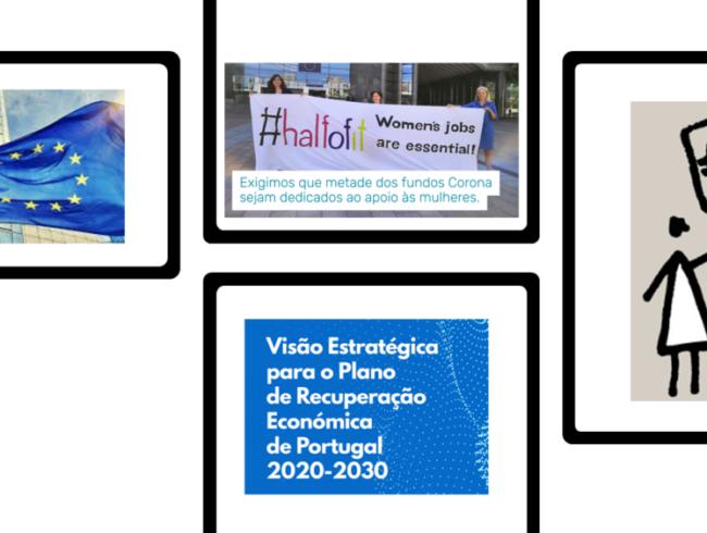 COVID-19 | Recuperação europeia e nacional e direitos das mulheres